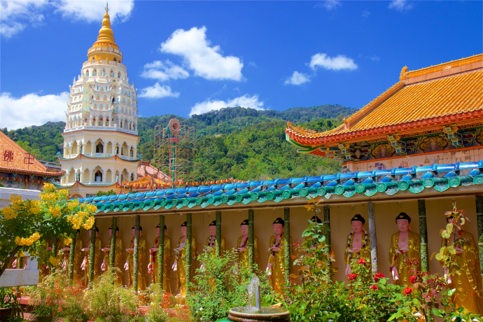 Kek Lok Si Temple in Penang is a must see attraction.