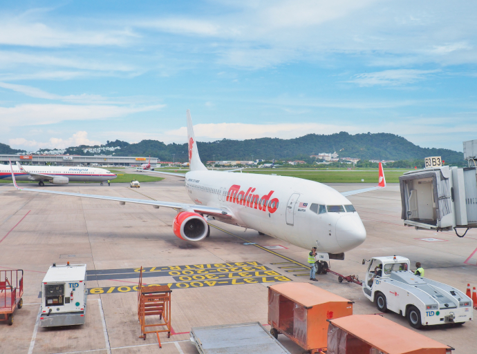 Penang International Airport is a hub for AirAsia, Firefly, Malaysia Airlines, MASkargo and Malindo Air.